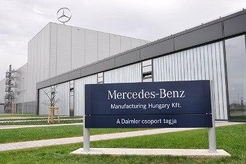 Mercedes-Benz Manufacturing Hungary Kft. Kecskemét